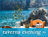 taverna evening boat trip